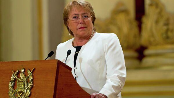 Michelle Bachelet, Alta Comisionada de la ONU para los Derechos Humanos - Sputnik Mundo
