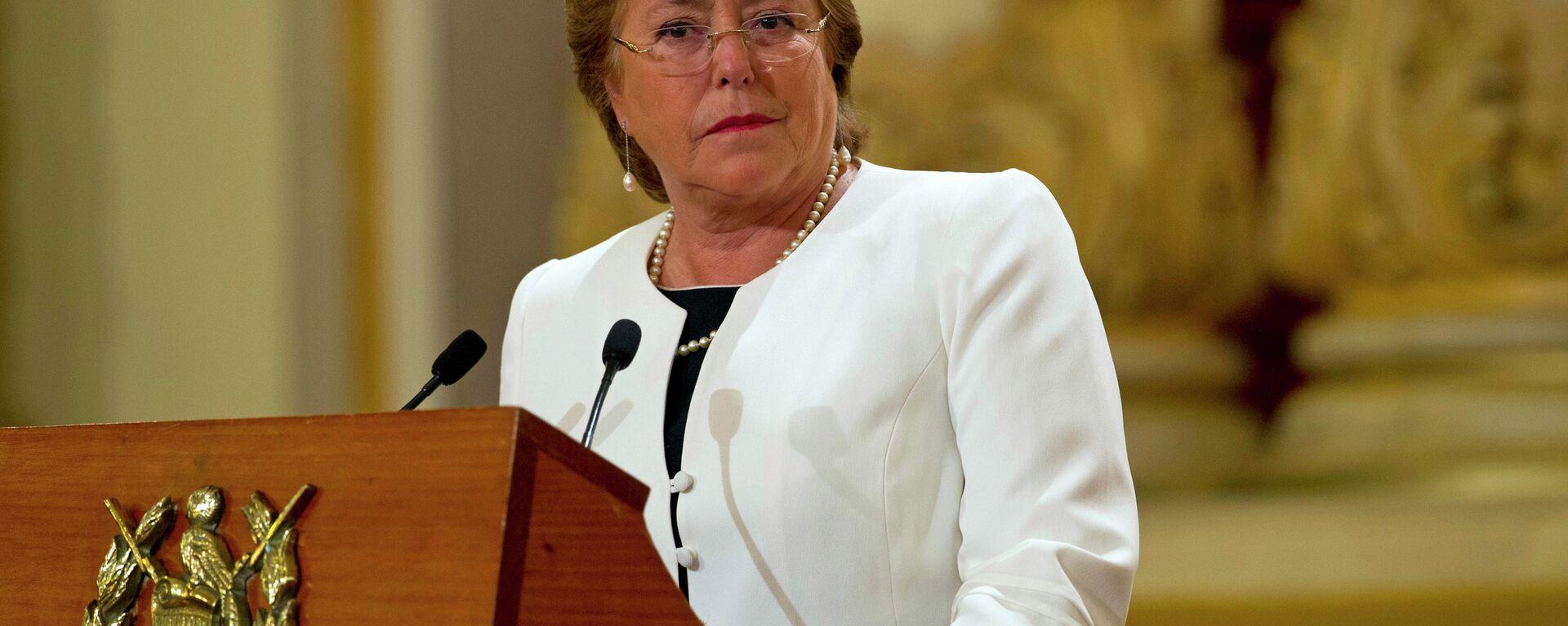 Michelle Bachelet, Alta Comisionada de la ONU para los Derechos Humanos - Sputnik Mundo, 1920, 11.03.2021