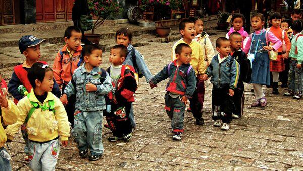 Niños chinos - Sputnik Mundo