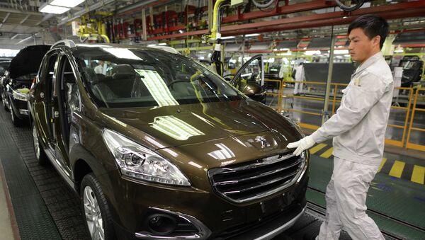 Fábrica de Dongfeng Motor Corp. - Sputnik Mundo