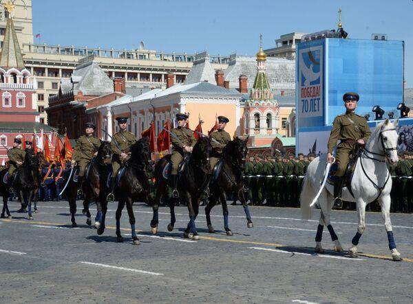 Ensayo general del Desfile de la Victoria - Sputnik Mundo