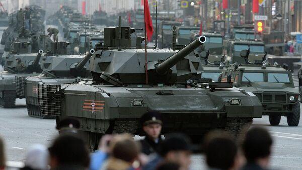 Ensayo del Desfile de la Victoria en Moscú - Sputnik Mundo