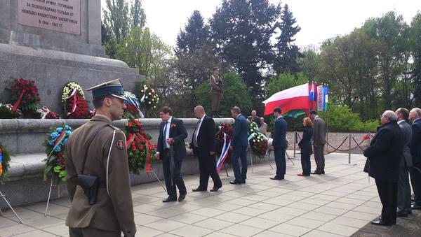 Solemnidades por el 70 aniversario de la Victoria en Varsovia - Sputnik Mundo