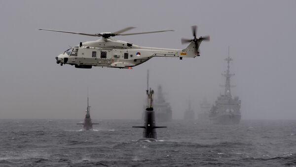 Ejercicios militares Dynamic Mongoose 2015 en Noruega - Sputnik Mundo