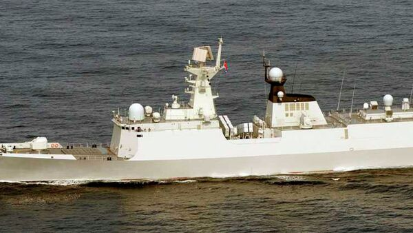 Buque de la Armada de China Weifang (archivo) - Sputnik Mundo