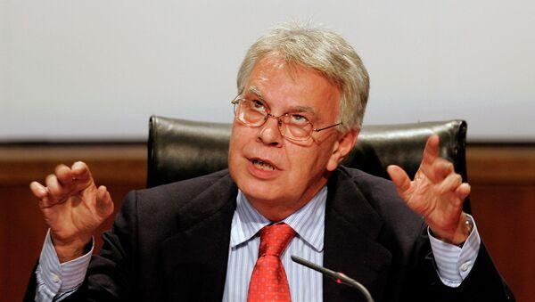 Felipe González, expresidente del Gobierno de España - Sputnik Mundo