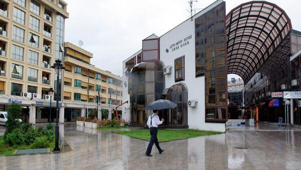 En las calles de Podgorica. la capital de Montenegro - Sputnik Mundo