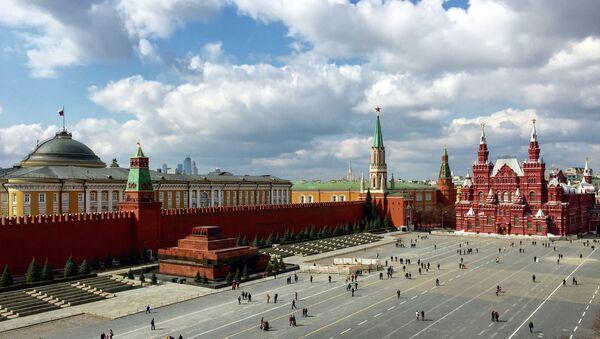 Kremlin y Plaza Roja de Moscú - Sputnik Mundo
