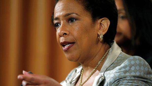 Loretta Lynch, Fiscal General de EEUU - Sputnik Mundo
