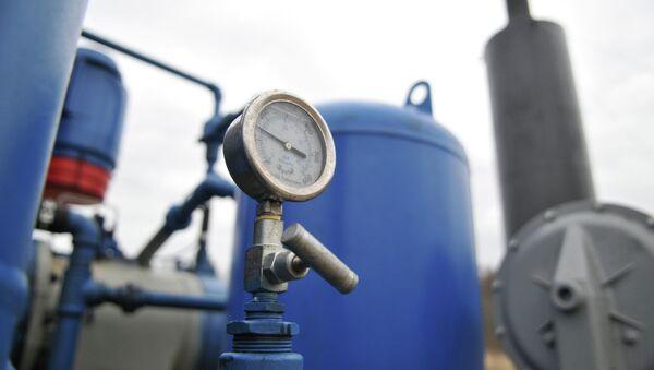 Campo de gas natural Krehivskyyа - Sputnik Mundo