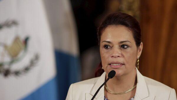 Roxana Baldetti, exvicepresidenta de Guatemala - Sputnik Mundo