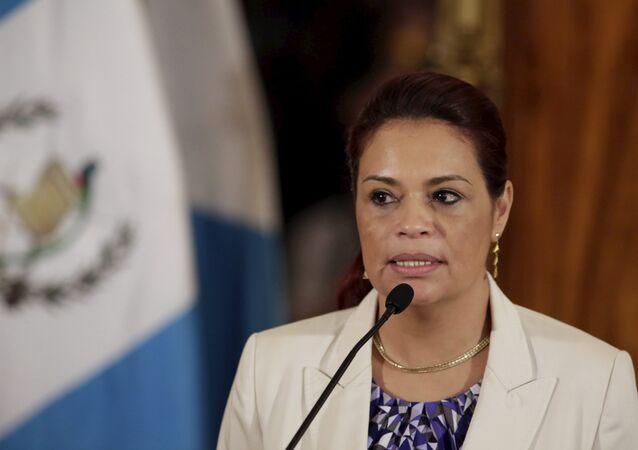 Roxana Baldetti, exvicepresidenta de Guatemala
