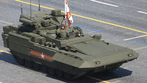 Blindado clase Armata - Sputnik Mundo