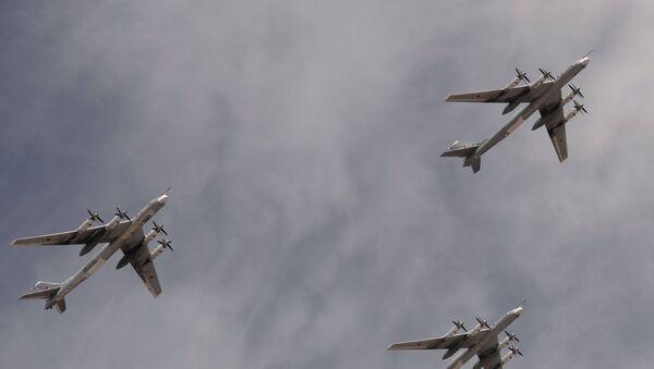 Bombarderos estratégicos portamisiles Tu-95MS - Sputnik Mundo