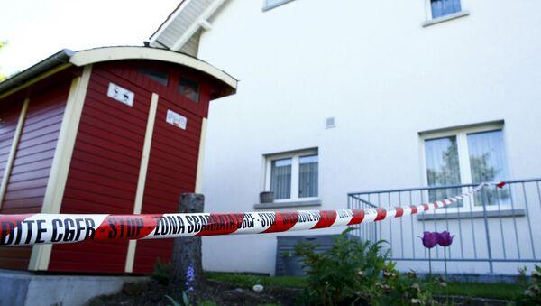 Lugar del tirroteo en el barrio residencial de Wurenlingen - Sputnik Mundo