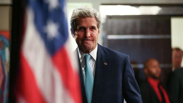 John Kerry, secretario del Estado de EEUU - Sputnik Mundo