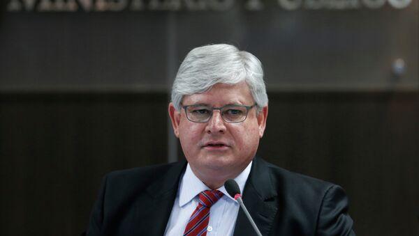 Rodrigo Janot, Fiscal General de Brasil - Sputnik Mundo