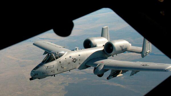 Avión de ataque A-10 Thunderbolt - Sputnik Mundo