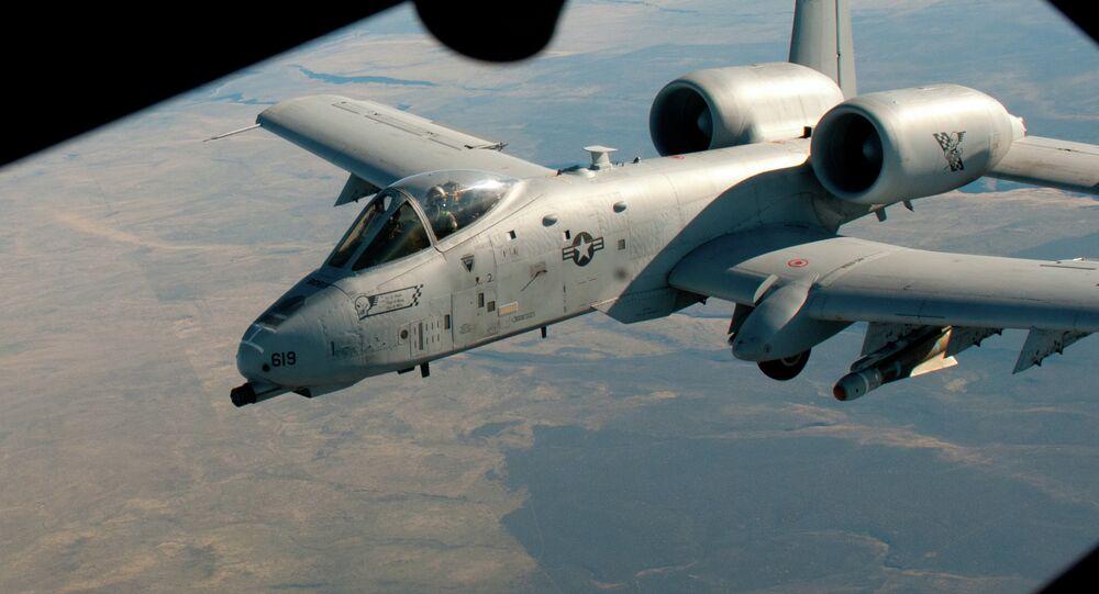 Avión de ataque A-10 Thunderbolt