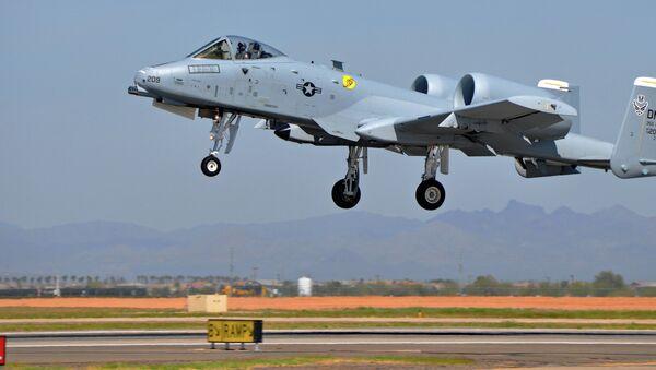 Avión de ataque A-10 Thunderbolt II - Sputnik Mundo