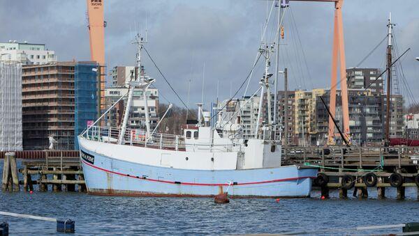 Marianne de Gotemburgo, primer barco de la Flotilla de la Libertad III - Sputnik Mundo