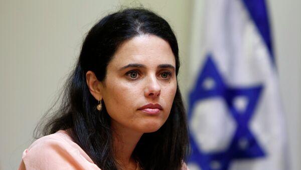 Ayelet Shaked, diputada de La Casa Judía - Sputnik Mundo