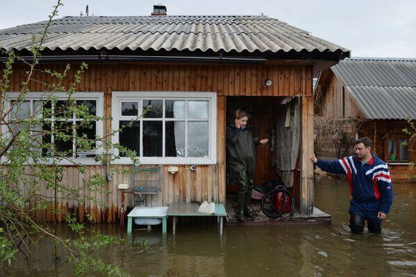 "Riada ""histórica"" en la provincia siberiana de Novosibirsk - Sputnik Mundo"