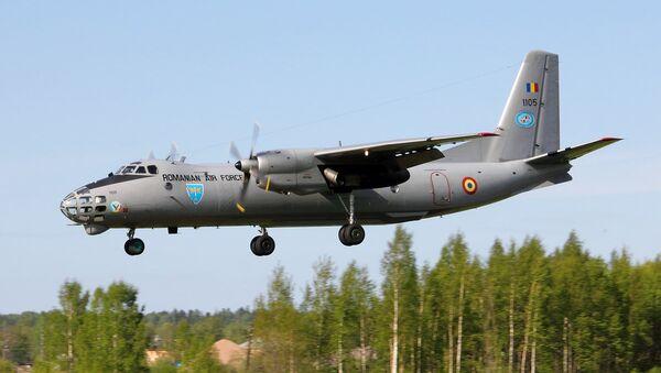 Avión rumano An-30 - Sputnik Mundo