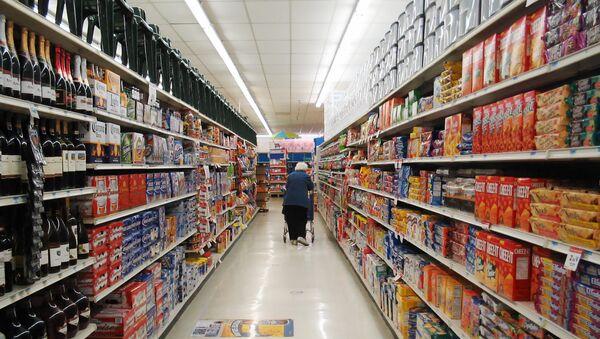 Un supermercado en EEUU - Sputnik Mundo