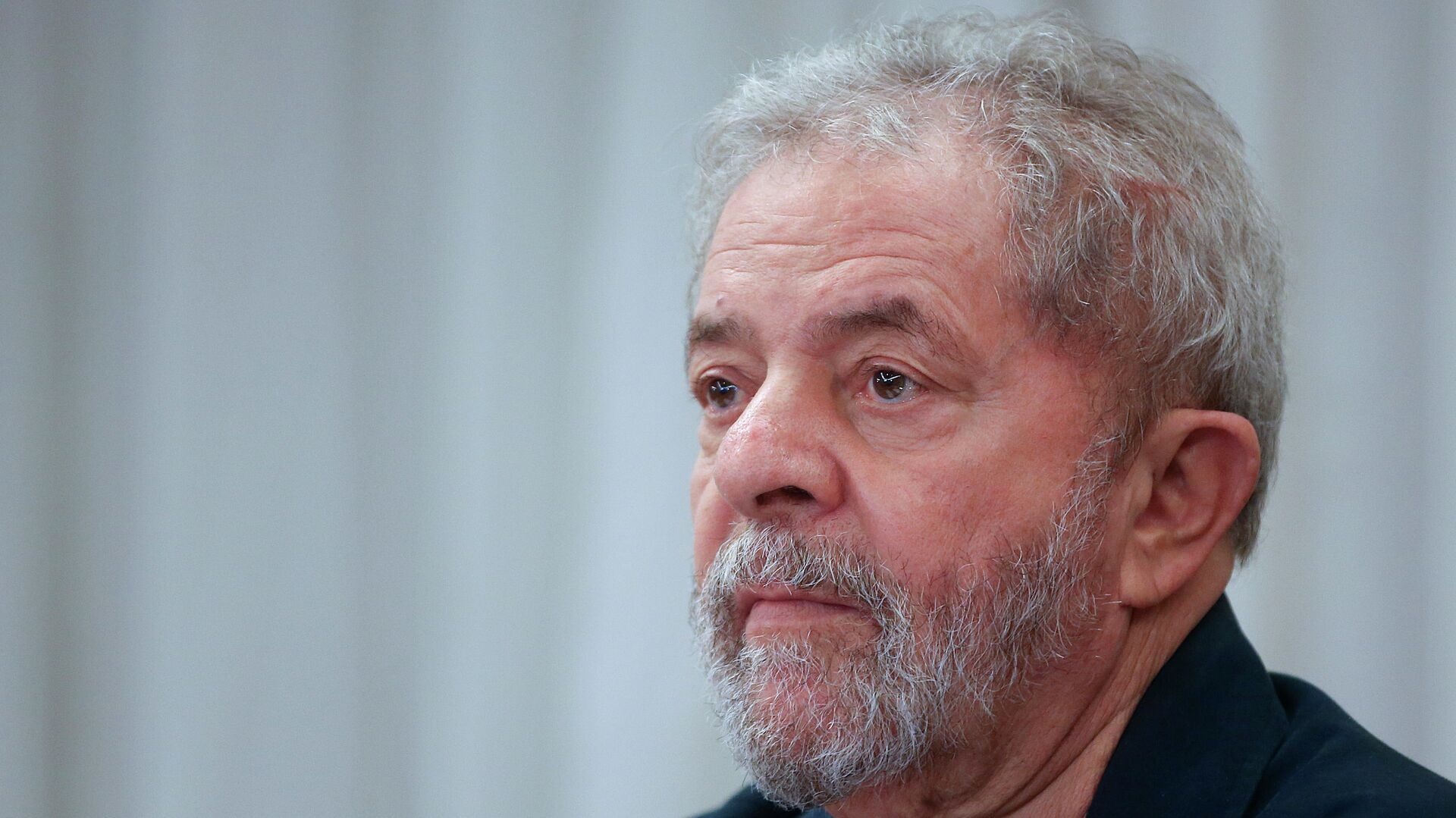 Brazil's former President Luiz Inacio Lula da Silva attends an extraordinary Worker's Party leaders meeting in Sao Paulo, Brazil, Monday, March 30, 2015 - Sputnik Mundo, 1920, 23.03.2021