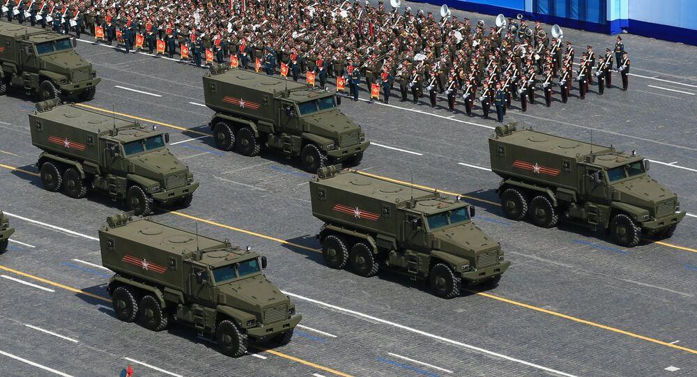 Vehículo blindado Taifún U