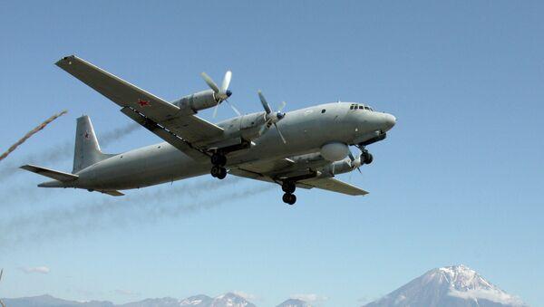 Avión Il-38 de la Flota Rusa del Pacífico - Sputnik Mundo