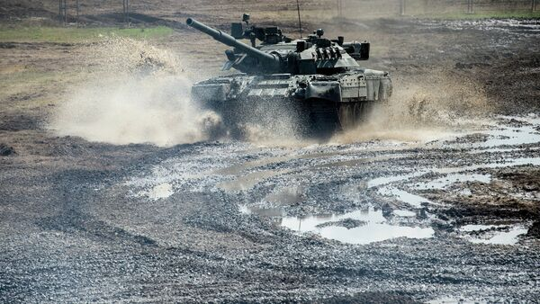 Tanque T-80 - Sputnik Mundo