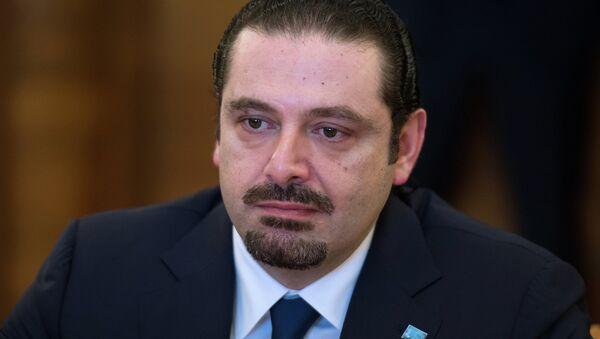 Saad Hariri, ex primer ministro libanés y líder del movimiento político Al Mustaqbal - Sputnik Mundo