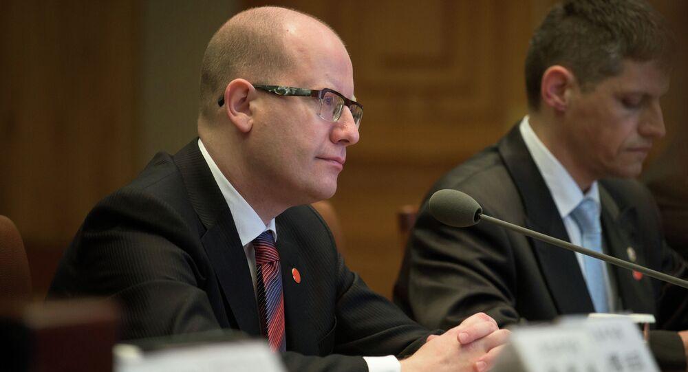 Bohuslav Sobotka, primer ministro de la República Checa
