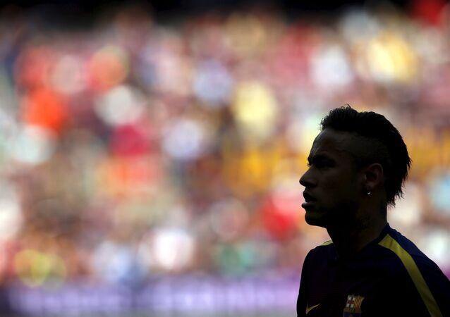 Neymar, el delantero brasileño