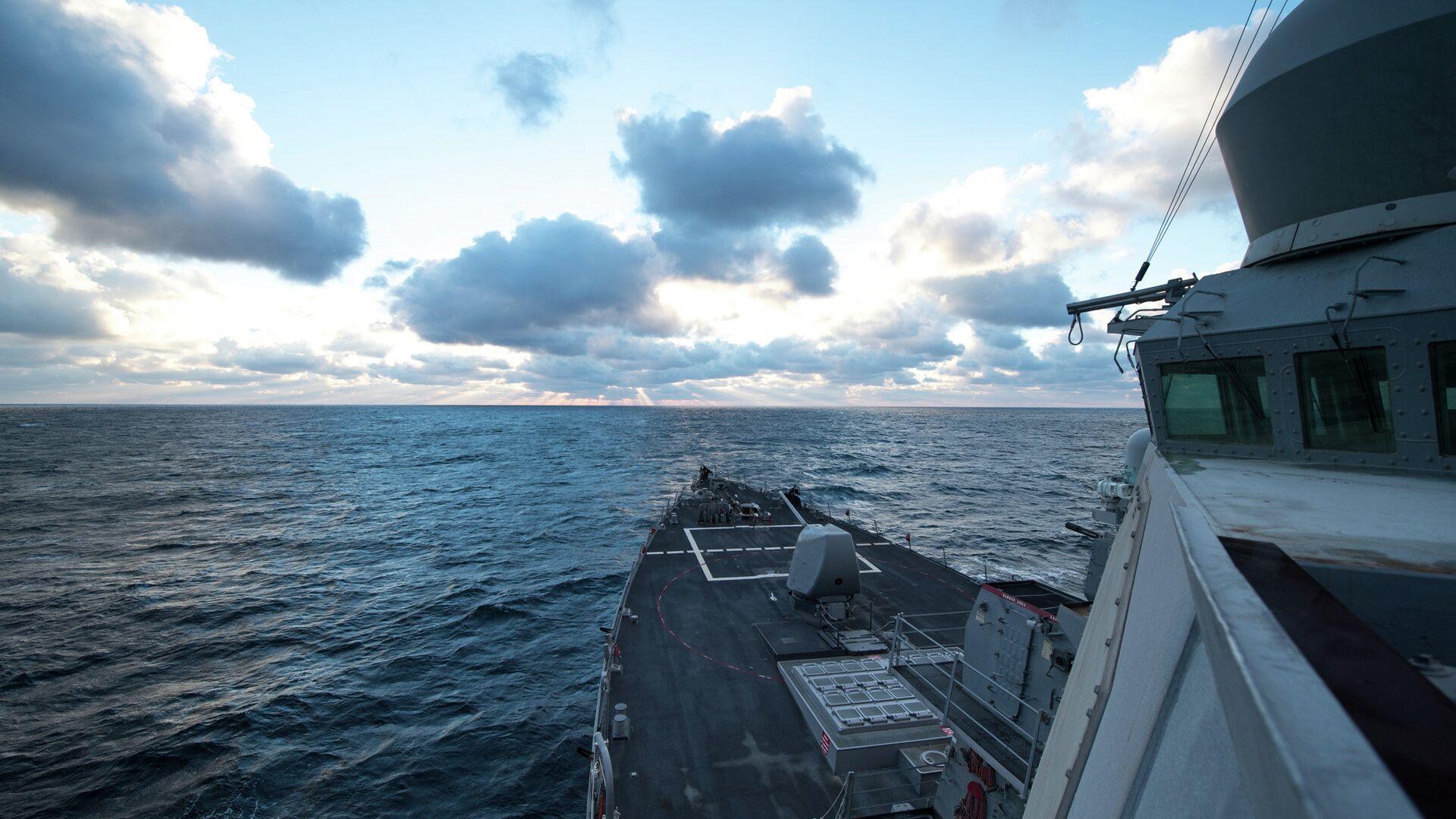 Destructor estadounidense USS Donald Cook en el mar Negro - Sputnik Mundo, 1920, 09.04.2021