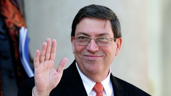 Bruno Rodríguez, ministro de Relaciones Exteriores de Cuba - Sputnik Mundo