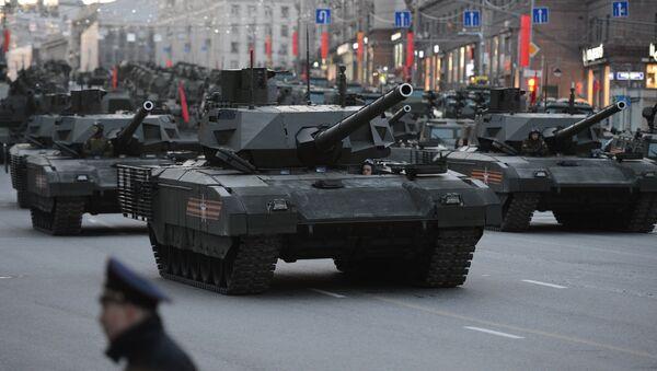 Tanque T-14 Armata - Sputnik Mundo