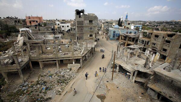La Fuerza Aérea de Israel ataca el sector de Gaza tras lanzamiento de misil - Sputnik Mundo