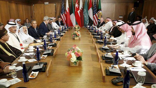 Líderes del Consejo de Cooperación para los Estados Árabes del Golfo (CCEAG) - Sputnik Mundo