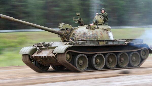 Tanque T-55 - Sputnik Mundo