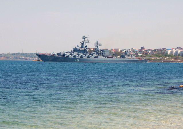 Crucero ruso Moskvá