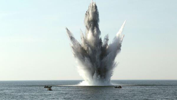 Maniobras Open Spirit en el mar Báltico (archivo) - Sputnik Mundo