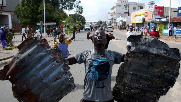 Manifestaciones de protesta en Burundi - Sputnik Mundo