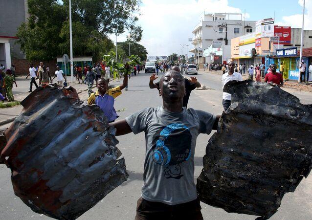 Manifestaciones de protesta en Burundi
