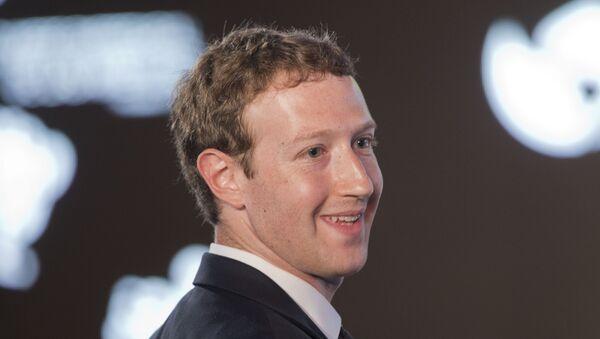 Mark Zuckerberg, fundador de Facebook - Sputnik Mundo