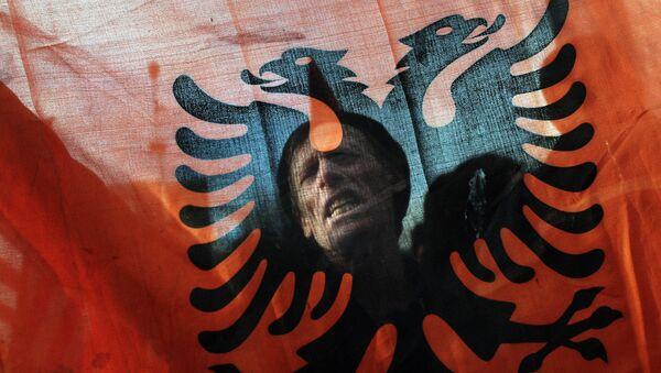 Bandera de Albania - Sputnik Mundo