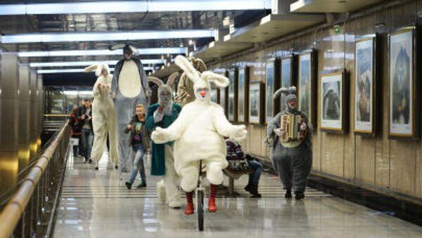 El metro de Moscú cumple 80 años - Sputnik Mundo