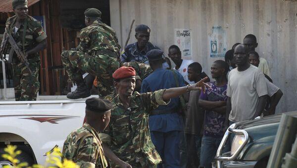Situación en Burundi - Sputnik Mundo